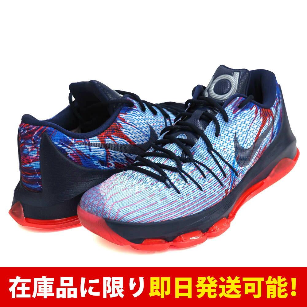 KD ケビン・デュラント 8 ナイキ Nike Soar Mid Nvy-Brght Crmsn-White