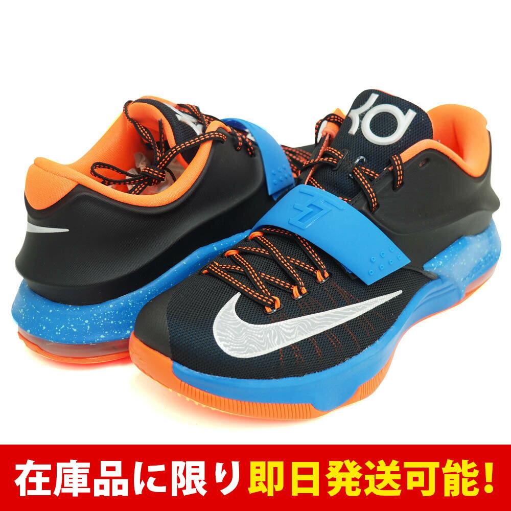 KD ケビン・デュラント VII EP ナイキ Nike Blk Mtllc Slvr-Pht Bl-Hypr Crm