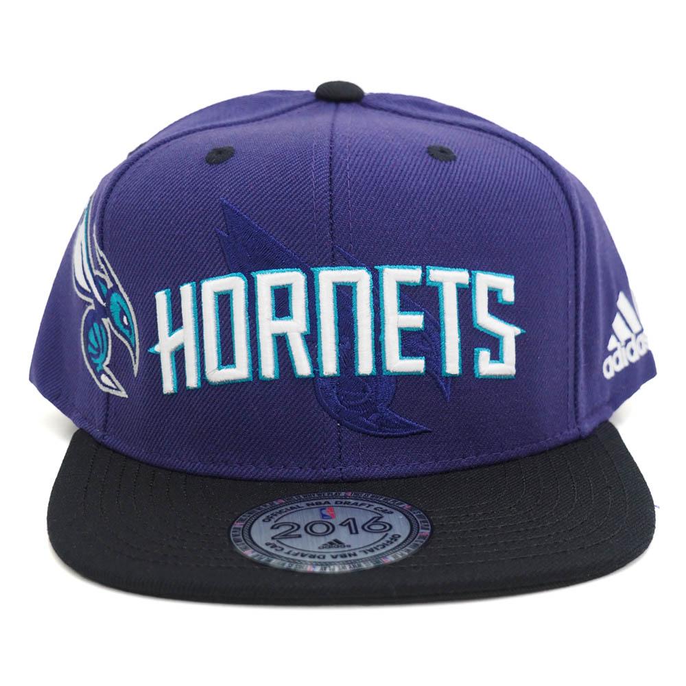 NBA ホーネッツ 2016 オーセンティック ドラフト キャップ/帽子 アディダス/Adidas【1808NBA】【181001セール解除】