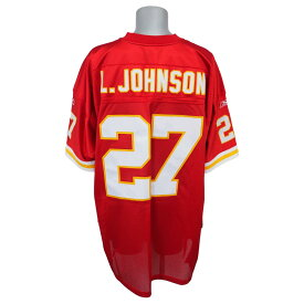 NFL チーフス ラリー・ジョンソン オーセンティック ユニフォーム リーボック/Reebok レッド【1910セール】