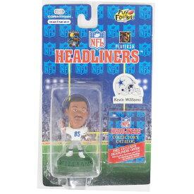 NFL カウボーイズ ケビン・ウィリアムズ ヘッドライナーズ 1996 エディション NIB フィギュア コリンシアン/Corinthian ホーム レアアイテム