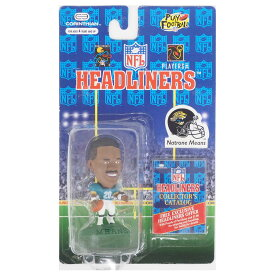 NFL ジャガーズ ナトローン・ミーンズ ヘッドライナーズ 1996 エディション NIB フィギュア コリンシアン/Corinthian ホーム レアアイテム