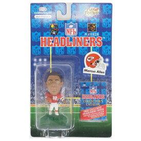 NFL チーフス マーカス・アレン ヘッドライナーズ 1996 エディション NIB フィギュア コリンシアン/Corinthian ホーム レアアイテム