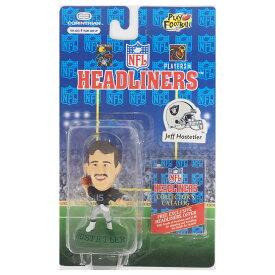 NFL レイダース ジェフ・ホステットラー ヘッドライナーズ 1996 エディション NIB フィギュア コリンシアン/Corinthian ホーム レアアイテム