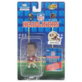 NFL 49ers ジェリー・ライス ヘッドライナーズ 1996 エディション NIB フィギュア コリンシアン/Corinthian ホーム レアアイテム