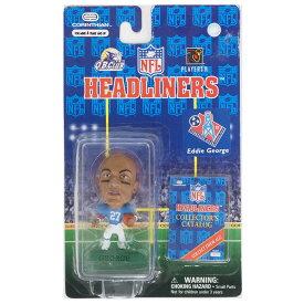 NFL オイラーズ エディ・ジョージ ヘッドライナーズ 1997 エディション NIB フィギュア コリンシアン/Corinthian ホーム レアアイテム