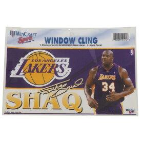 NBA レイカーズ シャキール・オニール SHAQ ステッカー/デカール ウィンクラフト/WinCraft