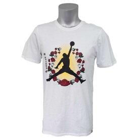 ナイキ ジョーダン/NIKE JORDAN ジャンプマン ローズ Tシャツ ホワイト AH5977-100