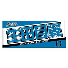 北海道日本ハムファイターズ グッズ 生田目 翼 2019新人選手フェイスタオル【1910価格変更】