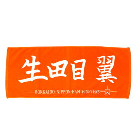 北海道日本ハムファイターズ グッズ 生田目 翼 応援フェイスタオル 2018【1910価格変更】