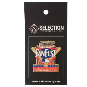 MLB クリーブランド・インディアンス 1997 オールスター Game Pin: Fan Fest ピンズ ピンバッチ Peter&David