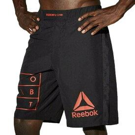 UFC ショーツ リーボック Reebok ショーツ ショートパンツ ブラック 黒 RNF MMA Shorts Black