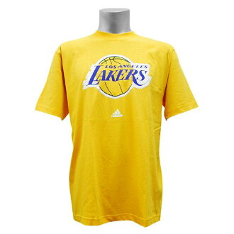 NBA Full Primary Logo Short Sleeve T shirt Los Angeles Lakers (yellow)