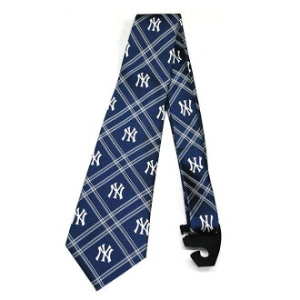 MLB Yankees tie Eagles Wings Necktie Woven Poly 2