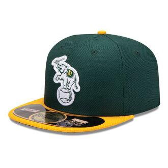 MLB Athletics Cap game new era/New Era (Cap of the BP of Era 59FIFTY Authentic Diamond 2013)