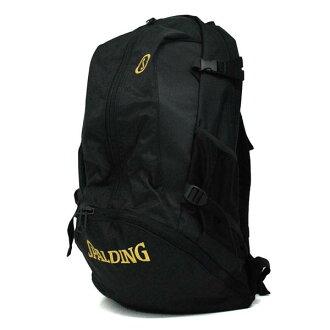 NBA CAGER backpack (black / gold) SPALDING