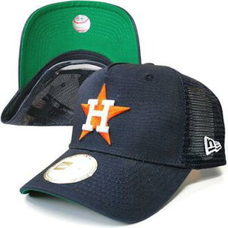 MLB Houston Astros Cooper's Town Trucker Mesh Cap New Era