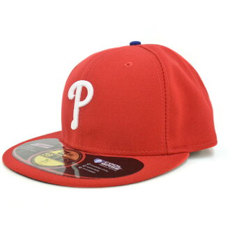 New Era MLB Philadelphia Phillies Authentic Performance On-Field Cap (game)