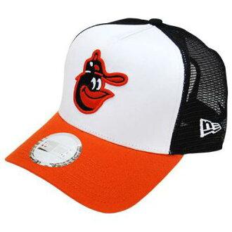 MLB Baltimore Orioles Cooper's Town Trucker Mesh cap New Era