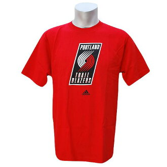 NBA Full Primary Logo Short Sleeve T-shirt Portland Trail Blazers (red) Adidas