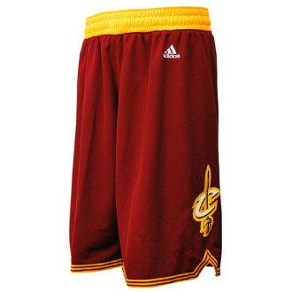 NBA Cavaliers shorts road adidas Revolution Swingman shorts