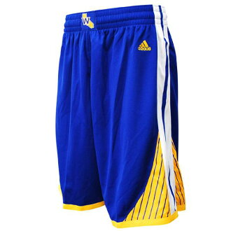 NBA warriors shorts road adidas Revolution Swingman shorts