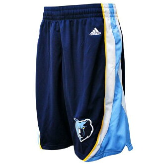 NBA Grizzlies shorts road adidas Revolution Swingman shorts