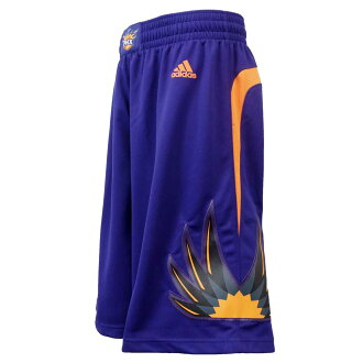 NBA Suns shorts road Adidas Revolution Swingman shorts
