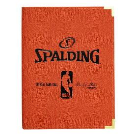 NBA A4バインダー オレンジ スポルディング/SPALDING