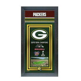 お取り寄せ NFL パッカーズ フォト ファイル/Photo File Framed Championship Banner - 14.5 x 27.5【1910価格変更】