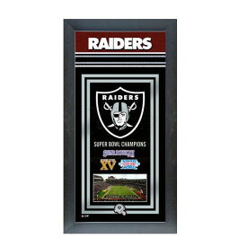 お取り寄せ NFL レイダース フォト ファイル/Photo File Framed Championship Banner - 14.5 x 27.5【1910価格変更】