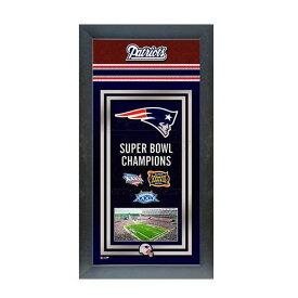 お取り寄せ NFL ペイトリオッツ フォト ファイル/Photo File Framed Championship Banner - 14.5 x 27.5【1910価格変更】