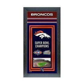 お取り寄せ NFL ブロンコス フォト ファイル/Photo File Framed Championship Banner - 14.5 x 27.5【1910価格変更】