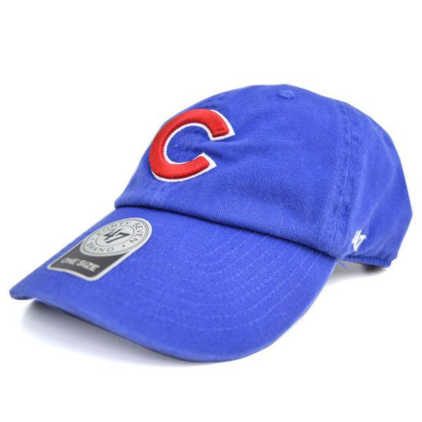 MLB カブス キャップ/帽子 ロイヤル 47ブランド Cleanup Adjustable キャップ【0702価格変更)】