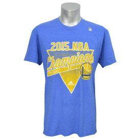 NBA Tシャツ ファイナル ウォリアーズ ブルー アディダス 2015