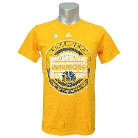 NBA Tシャツ ウォリアーズ ゴールド アディダス Conference Finals Hooper【1808NBA Tシャツ】【181001セール解除】