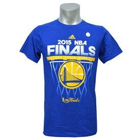 NBA Tシャツ ファイナル ウォリアーズ ブルー アディダス The Finals Net【1808NBA Tシャツ】【181001セール解除】