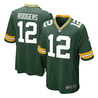 NFL Packers Aaron Rodgers Jersey green Nike /Nike (Game Jersey)