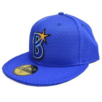 横滨 DeNA 海湾之星玩具帽 / 帽子新时代地道网帽 / 帽子横滨蓝色 H