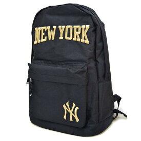 5aa5f874b3c9 MLB ヤンキース リュック/バックパック メンズ ブラック/ゴールド イーカム/E-come 600D