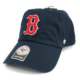 MLB レッドソックス キャップ/帽子 ゲーム 47ブランド Cleanup Adjustable キャップ【0702価格変更)】