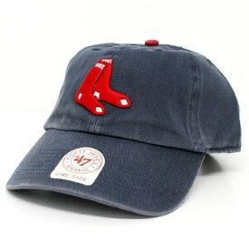 MLB レッドソックス キャップ/帽子 オルタネート 47ブランド Cleanup Adjustable キャップ【0702価格変更)】