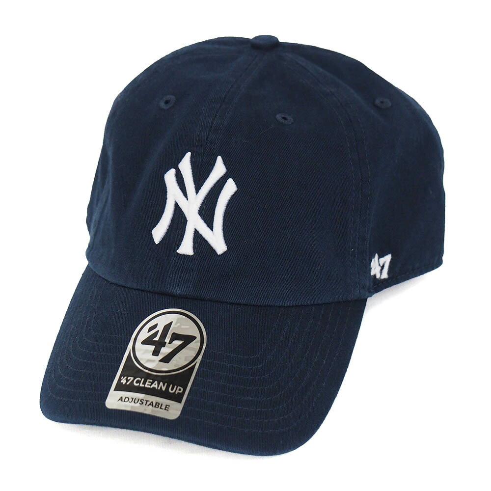 MLB ヤンキース キャップ/帽子 ホーム 47ブランド Cleanup Adjustable キャップ【0702価格変更)】