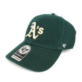 MLB アスレチックス キャップ/帽子 ロード 47ブランド Cleanup Adjustable キャップ【0702価格変更)】