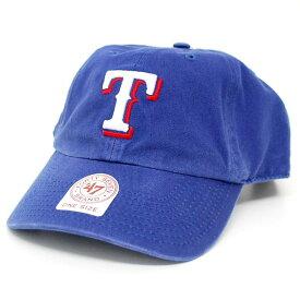 MLB レンジャーズ キャップ/帽子 ゲーム 47ブランド Cleanup Adjustable キャップ【0702価格変更)】