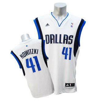 NBA Mavericks Dirk Nowitzki jerseys home adidas Revolution Replica jerseys