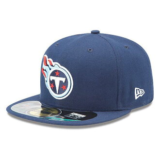 NFL Titans cap / hat navy new gills On-Filed Performance 59FIFTY Fitted cap