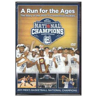 NCAA 哈士奇進口版 DVD 康涅狄格大學 2011 年全國籃球錦標賽