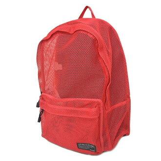 Spalding /SPALDING Backpack / Rucksack-red MESH PACK