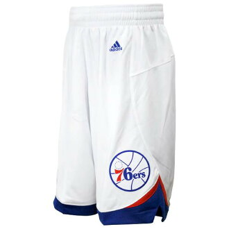 NBA 76ers shorts home Adidas Revolution Swingman shorts